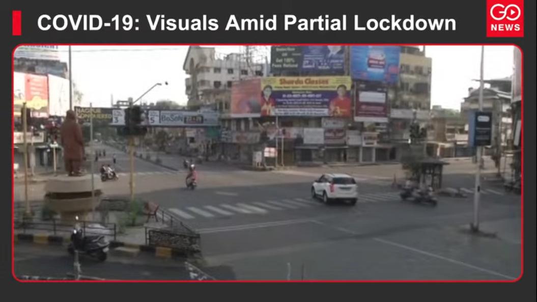 COVID-19: Visuals Amid Partial Lockdown