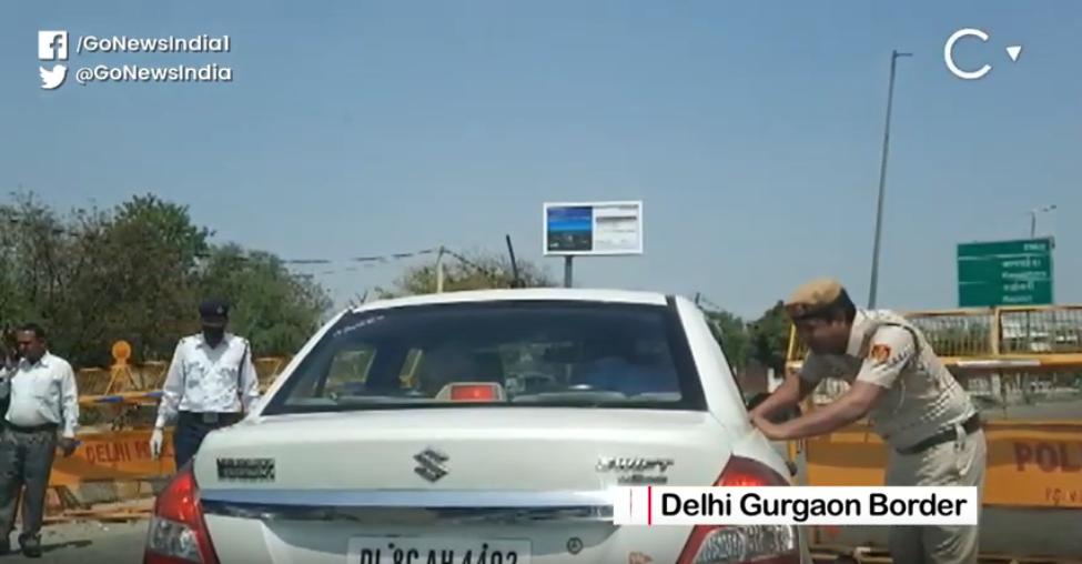 Lockdown: Ground Report From Delhi-Gurugram Border