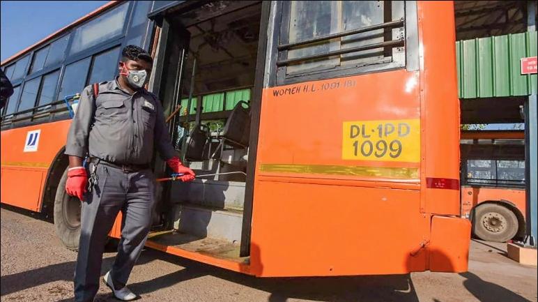Delhi Govt's Public Transport Ban Comes Into Effec