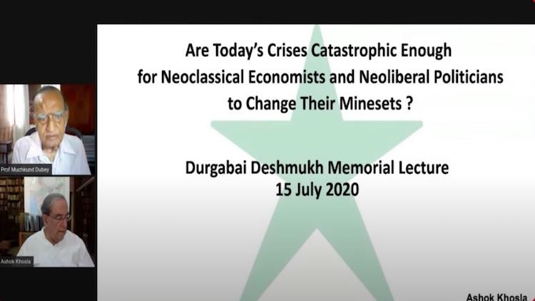 LIVE: DR. DURGABAI DESHMUKH MEMORIAL LECTURE 2020