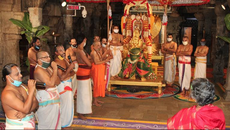 At least 743 Tirupati Balaji Staff Infected By COV