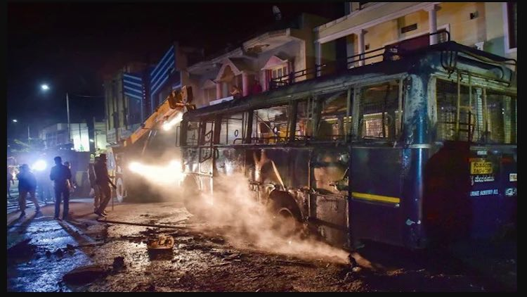 206 Arrests In Bengaluru Violence, State Governmen
