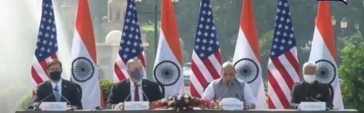 LIVE: India-US' Joint Presser After 2+2 Meet
