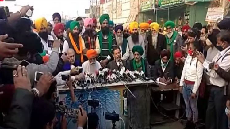 LIVE: Agitating Farmers Address Media