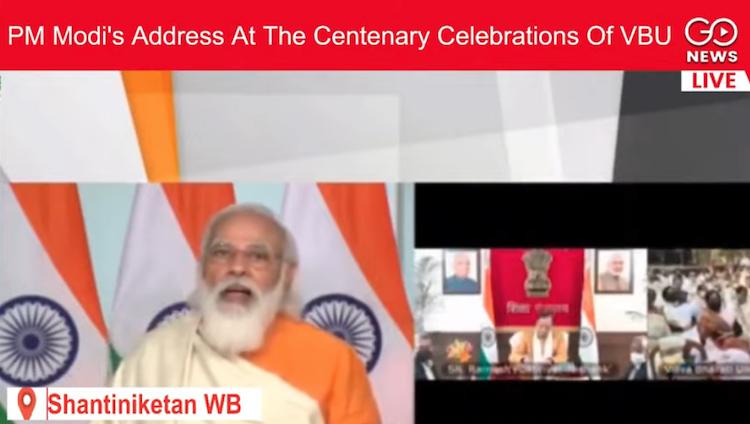 PM Modi's Address At The Centenary Celebrations Of
