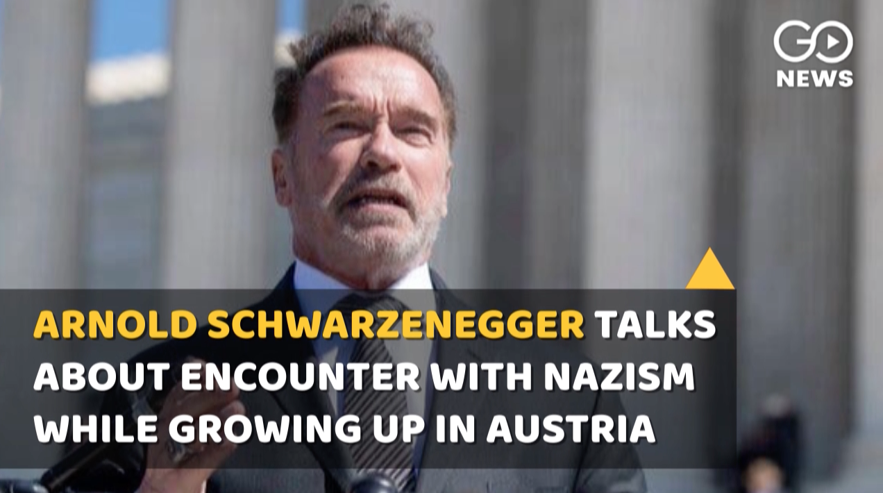 Arnold Schwarzenegger Talks About Nazism While Gro