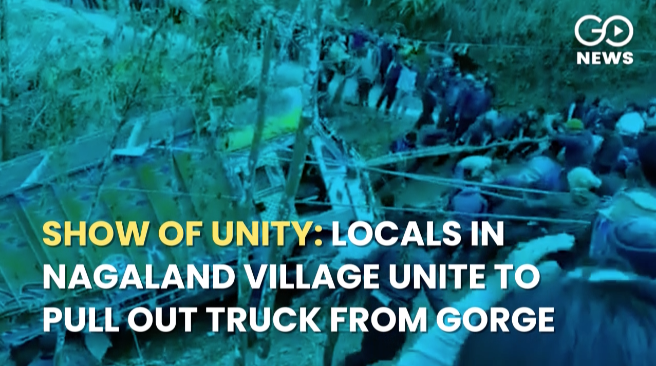 Show Of Unity: Locals Of Nagaland Village Unite To