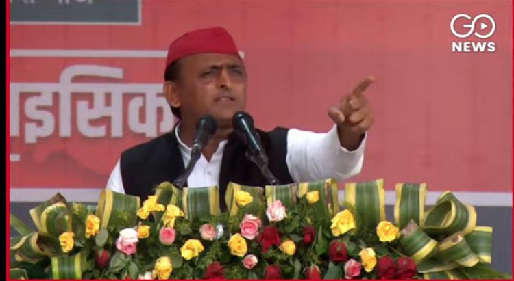 Samajwadi Party Raly Kanour Akhilesh Yadav