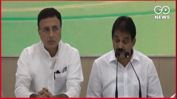 Congress AICC HQ Press Comference After CWC Meetin