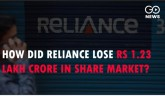 How Did Reliance Lose Rs 1.23 Lakh Crore In Share