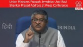 LIVE: Union Ministers Prakash Javadekar And Ravi S