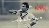 Gavaskar exchanged with fisherman's son