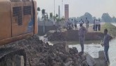 Bihar: Bridge's Approach Road Washed Away Hours Be