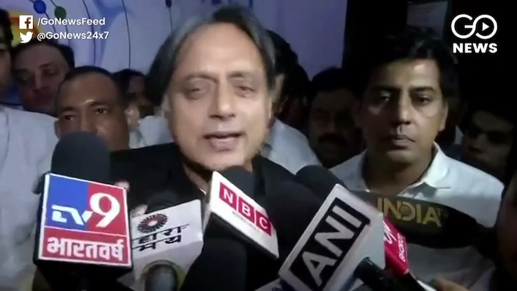 Tharoor: Congress Must Stick To Its Ideals