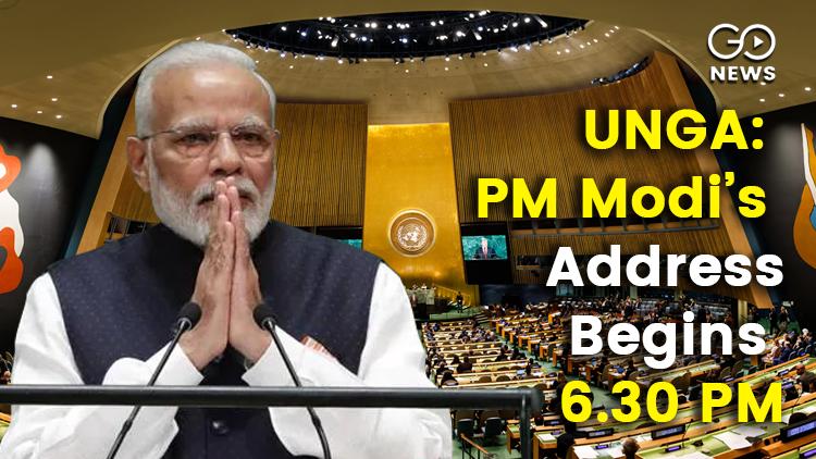 PM Modi UNGA Address Quad Meeting