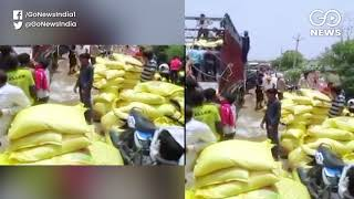 Two Trucks Carrying Fertilizers Looted in MP's Sha