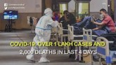 COVID-19: Over One Lakh Cases Found In Just Four D
