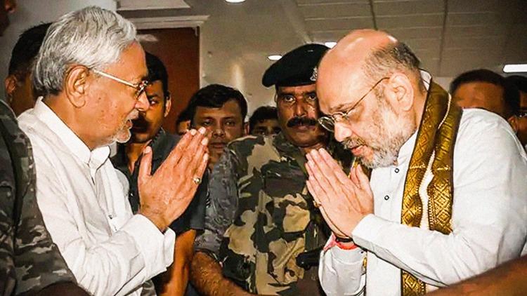 CM Nitish Kumar Fights A Lone Battle In Bihar Elec