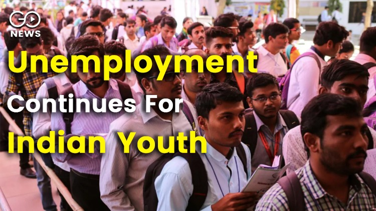 Unemployment Continues For Indian Youth