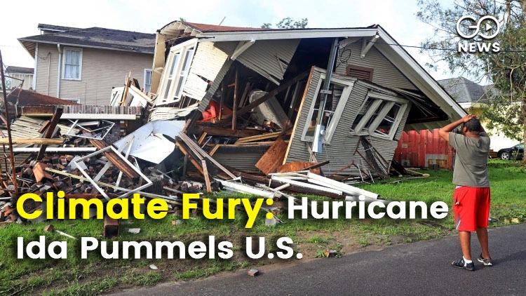 Climate Crisis: Hurricane Ida Rages In U.S.