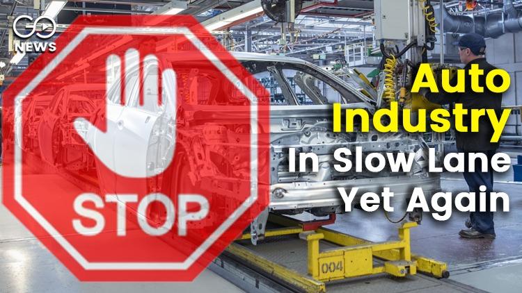 Auto Industry Slowdown India Sales Dip Again