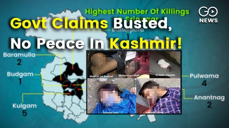 Kashmir Killings By Militants