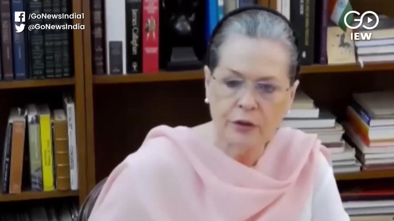 Sonia: BJP Spreading 'Virus Of Communal Prejudice'