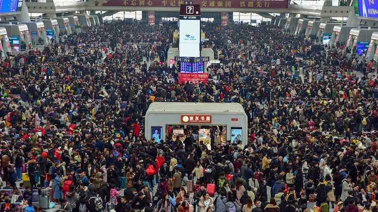 China New Year Migration Chaos Amid Virus Outbreak