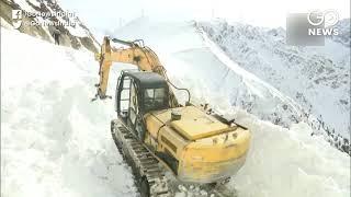Kashmir Finally Gets Break From Heavy Snowfall