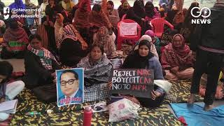 DUTA Holds Protest For Absorption Of Ad-hoc Teache