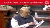 LIVE: HM Amit Shah On Uttarakhand Disaster