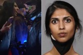Indian Woman Arrested For Spitting On Cop During A