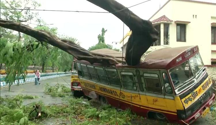 West Bengal storm wreaks more damage than corona,