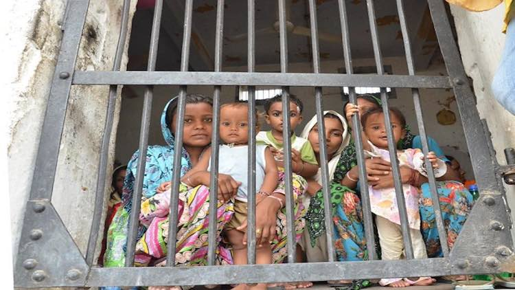 Over 1,600 Children Behind Bars With Incarcerated