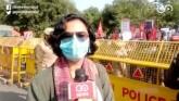 Protest At Delhi's ITO In Support Of Farmers' Dema