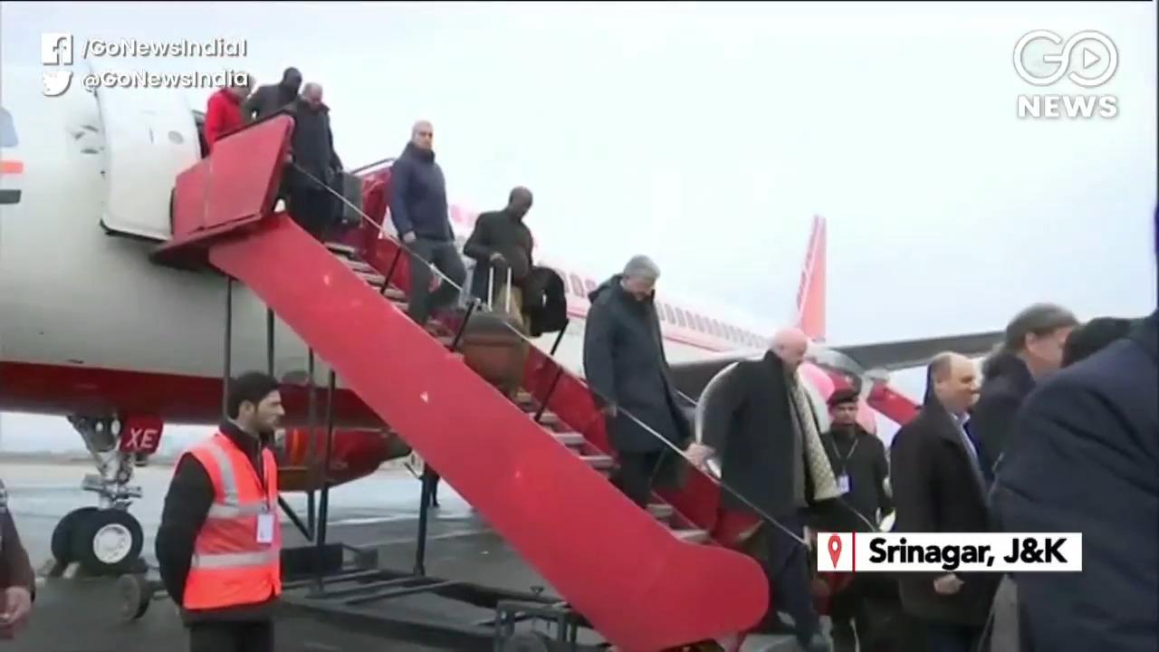 Foreign Delegation Visits Kashmir