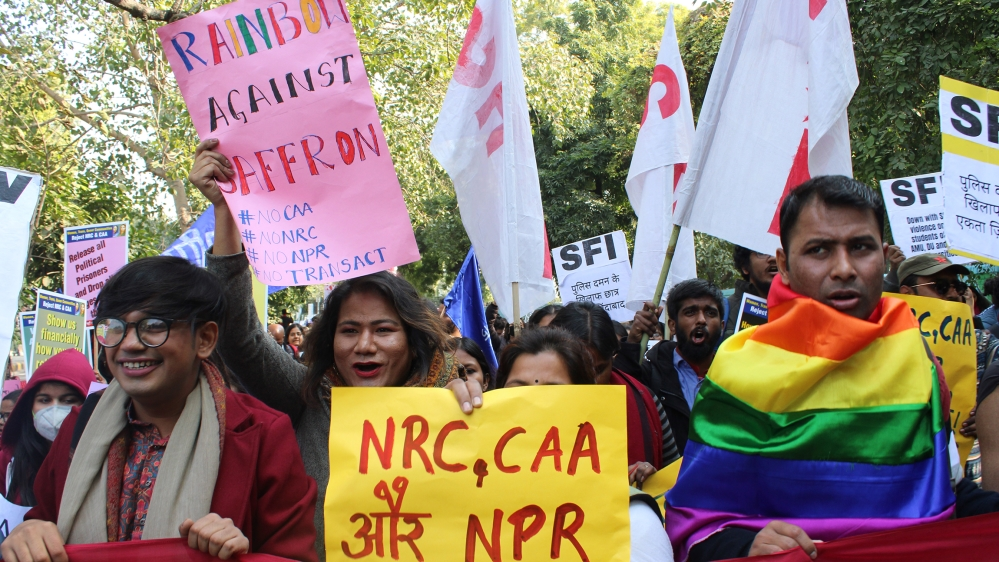 Anti-CAA Protests Across Cities By Women And LGBT