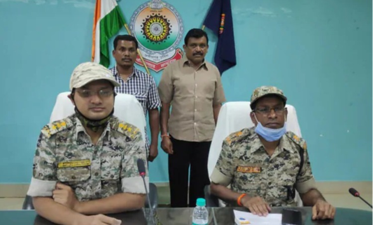 Dantewada BJP Vice-President Arrested While Supply