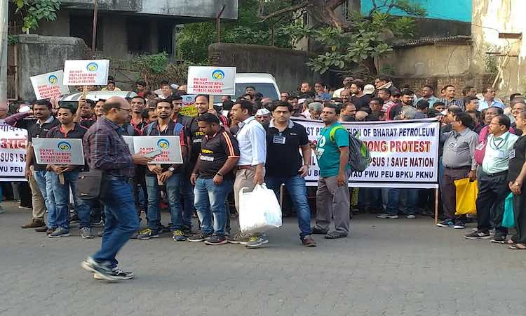 Protest from Parliament to the street against the