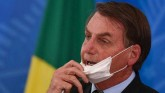 Brazilian President Jair Bolsonaro Corona infected