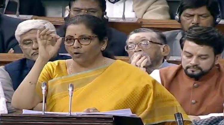 Amid Economic Slowdown, Nirmala Sitharaman Tables