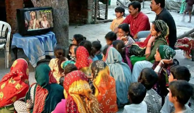 Government spending on TV increased by 244 percent
