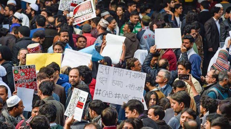 Day 49: Anti-CAA Protest At Shaheen Bagh