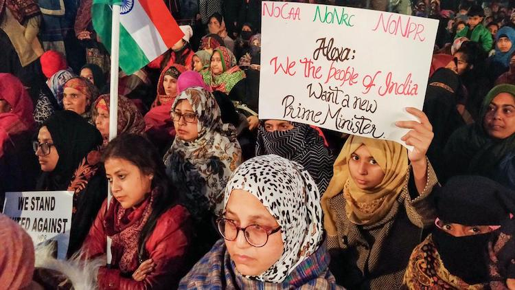 DAY 44 : Anti-CAA Protest At Shaheen Bagh