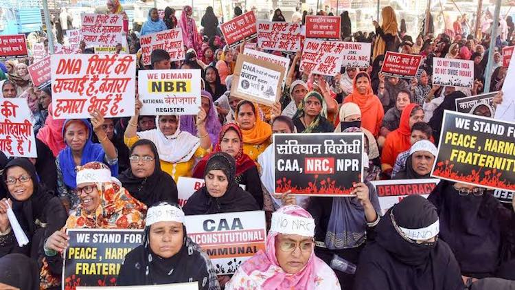 Day 48: Anti-CAA Protest At Shaheen Bagh
