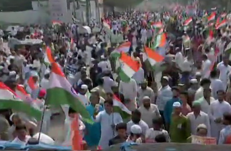 LIVE: CAA-NRC protest in Hyderabad