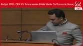 LIVE: Budget 2021: CEA KV Subramanian Briefs Media