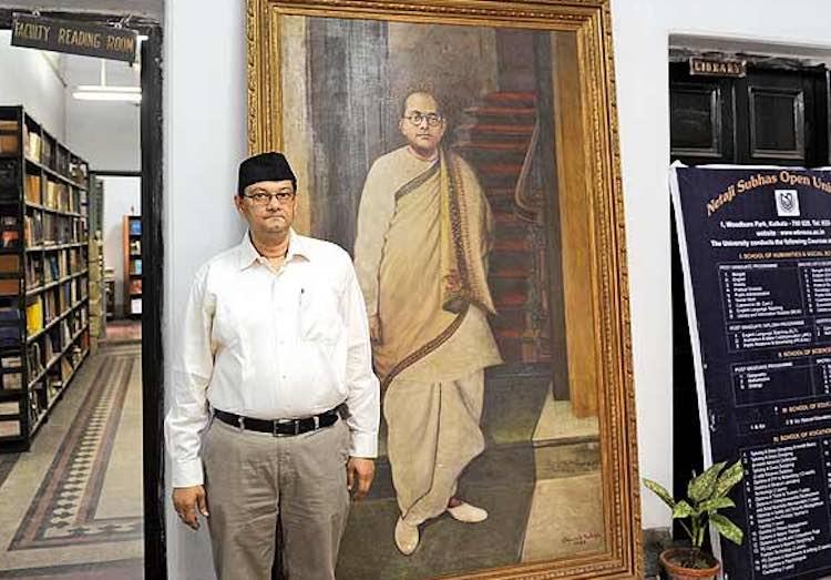 Netaji Subhash Chandra Bose's great-grandson opene