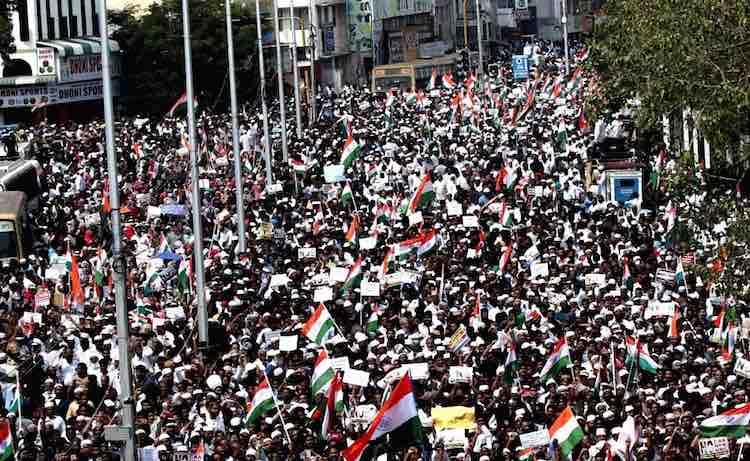 Public outcry in Chennai against citizenship law,