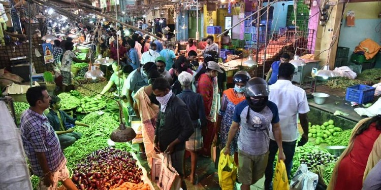 Chennai Vegetable Market, One Of The Largest In As